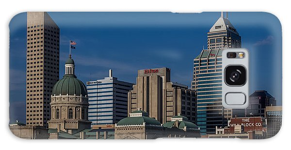 Indianapolis Skyscrapers Galaxy Case