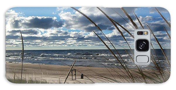 Indiana Dunes' Lake Michigan Galaxy Case by Pamela Clements
