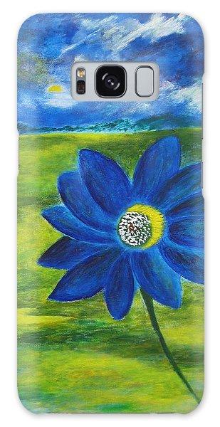 Indigo Blue Galaxy Case by John Scates