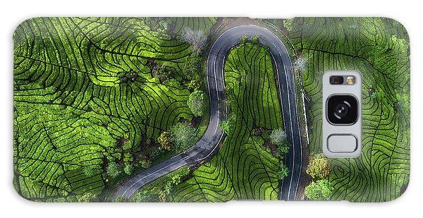 Countryside Galaxy Case - Indonesia - Rancabali Tea Aerial by Jean Claude Castor