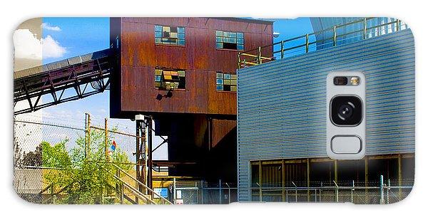 Industrial Power Plant Architectural Landscape Galaxy Case