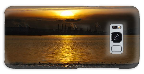Industrial Sunset Galaxy Case