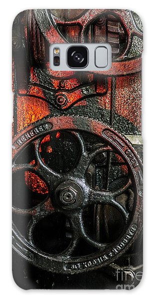 Industrial Wheels Galaxy Case by Carlos Caetano