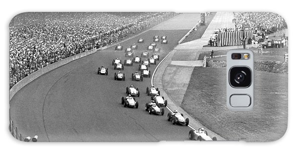 1950s Galaxy Case - Indy 500 Race Start by Underwood Archives