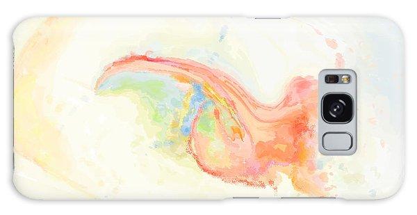 Infantem Scriptor Pectora Galaxy Case by Constance Krejci