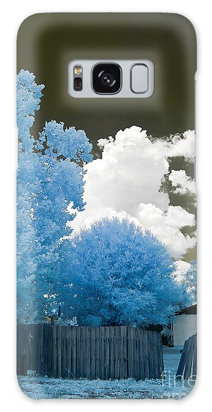 Galaxy Case - Infrared Broken Fence by Jared Shomo