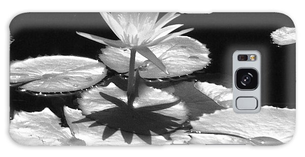 Infrared - Water Lily 02 Galaxy Case