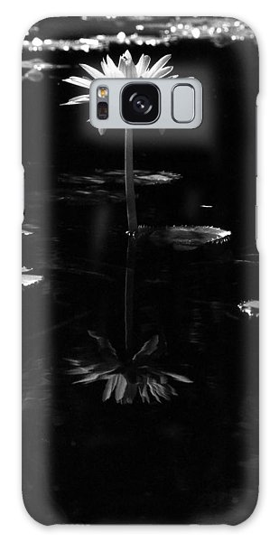 Infrared - Water Lily 03 Galaxy Case