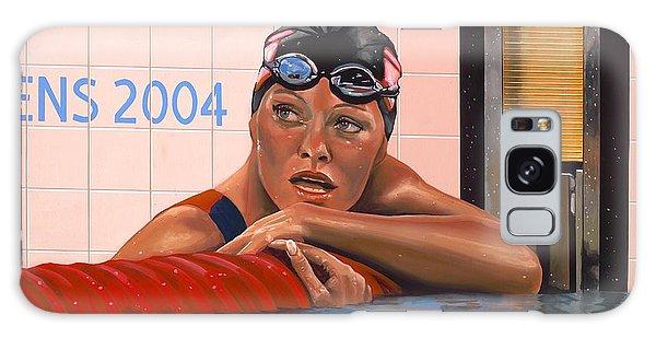 Swimming Galaxy Case - Inge De Bruijn by Paul Meijering