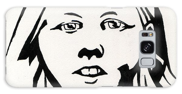 Ink Portrait Galaxy Case