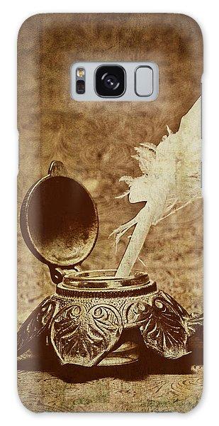 Antique Galaxy Case - Inkwell II by Tom Mc Nemar