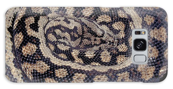 Inland Carpet Python  Galaxy Case by Karl H Switak