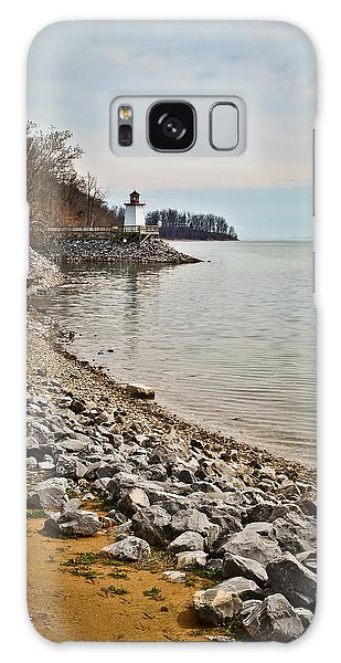 Inlet Lighthouse 3 Galaxy Case by Greg Jackson