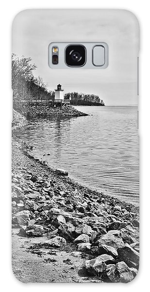 Inlet Lighthouse 3 In B/w Galaxy Case