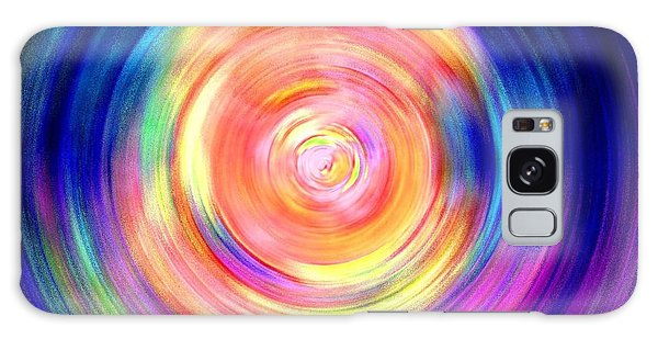 Inner Glow Abstract Art Galaxy Case