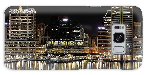Inner Harbor - Baltimore Maryland Galaxy Case