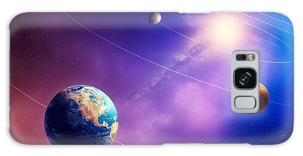 Bright Sun Galaxy Case - Inner Solar System Planets by Johan Swanepoel