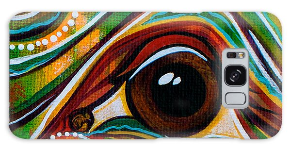 Inner Strength Spirit Eye Galaxy Case