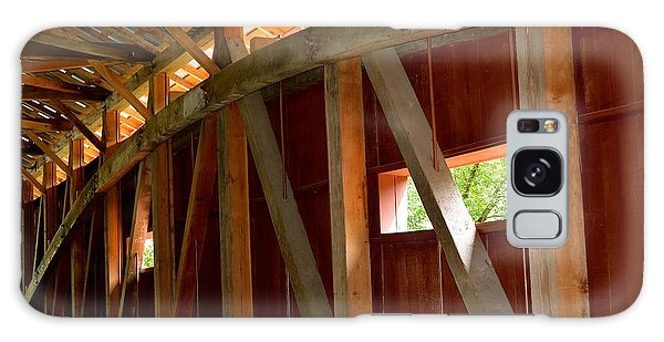 Inside A Covered Bridge 2 Galaxy Case