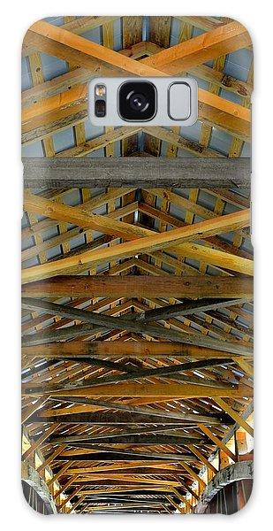 Inside A Covered Bridge 3 Galaxy Case