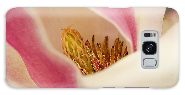 Inside A Tulip Tree Blossom Galaxy Case by MaryJane Armstrong