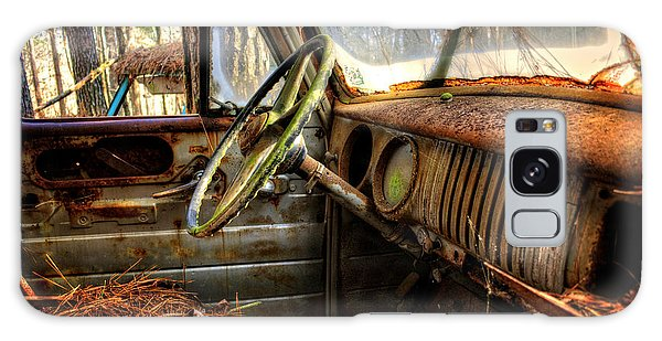 Inside An Old Truck Galaxy Case