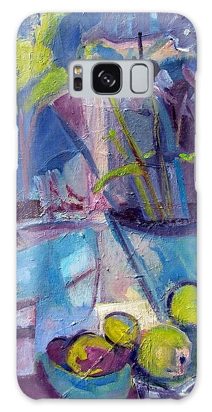 Inside And Outside Abstract Expressionism Galaxy Case by Betty Pieper