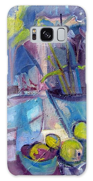 Inside And Outside Abstract Expressionism Galaxy Case