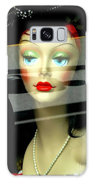 Inside Looking Out Galaxy Case by Newel Hunter