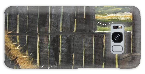 Barn -inside Looking Out - Summer Galaxy Case by Jan Dappen