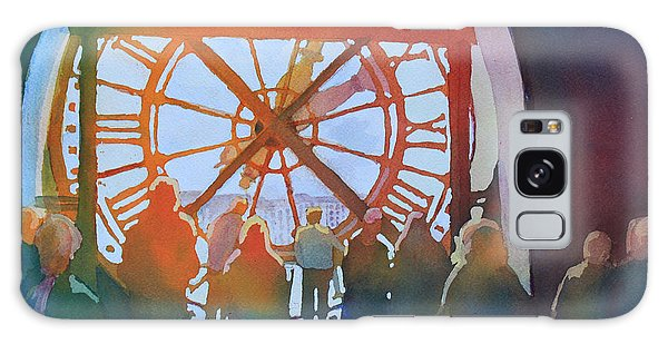 Clock Galaxy Case - Inside Paris Time by Jenny Armitage