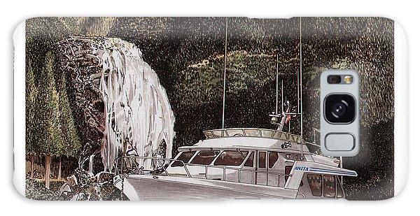 Motor Yacht Galaxy Case - Chatterbox Falls Safe Anchorage by Jack Pumphrey