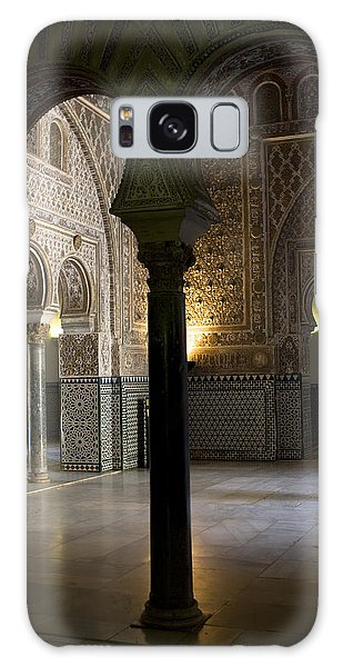 Inside The Alcazar Of Seville Galaxy Case