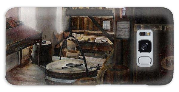 Inside The Flour Mill Galaxy Case