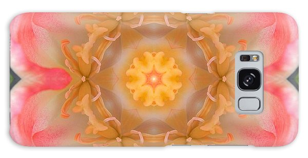 Inside Tulip Mandala Galaxy Case