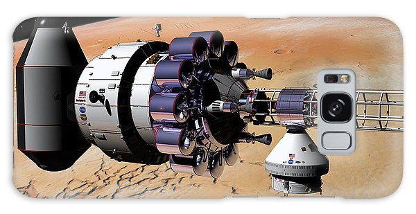 Inspection Over Mars Galaxy Case by David Robinson