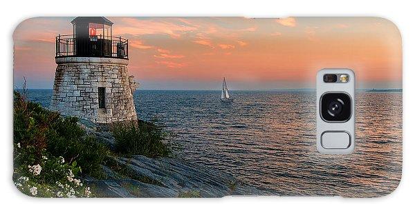 Inspirational Seascape - Newport Rhode Island Galaxy Case