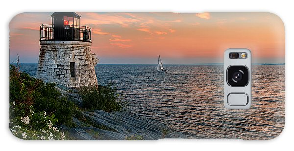 Inspirational Seascape - Newport Rhode Island Galaxy Case