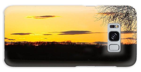 Inspirational Sunset  Galaxy Case
