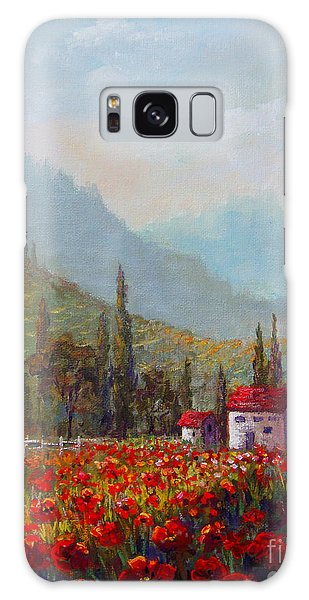 Inspired By Tuscany Galaxy Case by Lou Ann Bagnall