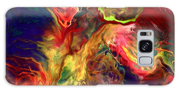 Intense Emotions Contemporary Abstract Galaxy Case