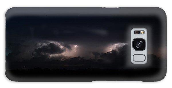Intense Lightning Galaxy Case by Ryan Crouse