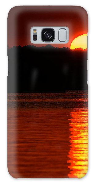 Intense Sunset Galaxy Case