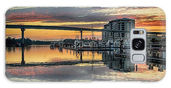 Intercoastal Waterway And The Wharf Galaxy Case