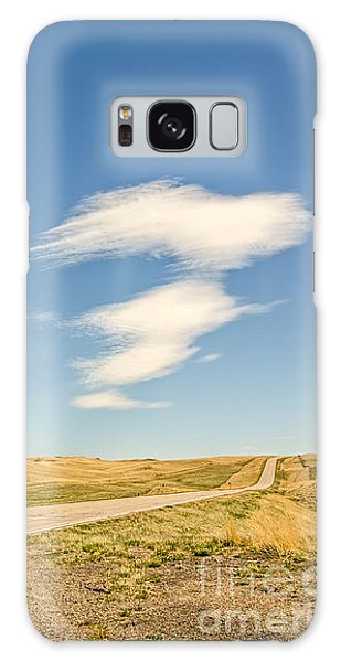 Interesting Clouds In Big Sky Country Galaxy Case