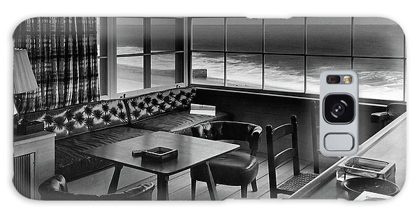 Interior Of Beach House Owned By Anatole Litvak Galaxy Case