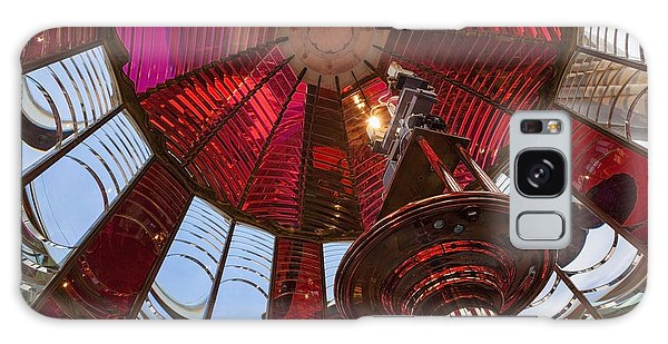 Interior Of Fresnel Lens In Umpqua Lighthouse Galaxy Case