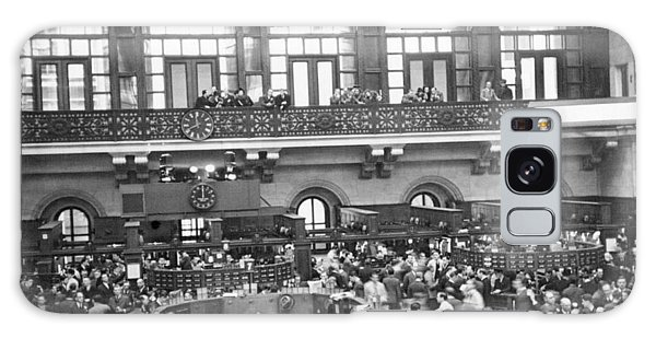 Interior Of Ny Stock Exchange Galaxy Case