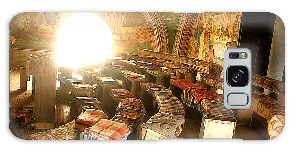 Interior Of Old Orthodox Church In Sibiu Romania Galaxy Case