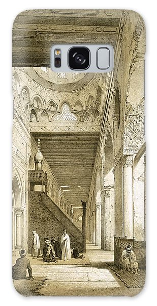 Islam Galaxy Case - Interior Of The Maqsourah In The 9th by Philibert Joseph Girault de Prangey